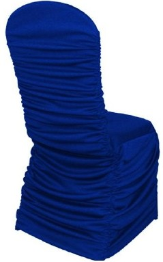 Royal Blue Rouge Chair Cover
