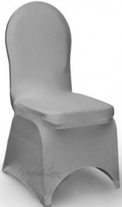 platinum spandex chair cover